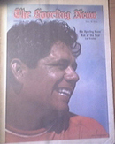 The Sporting News 1/8/1972 Lee Trevine Man Of The Year