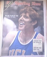 The Sporting News 3/18/1972 UCLA's Bill Walton Cover