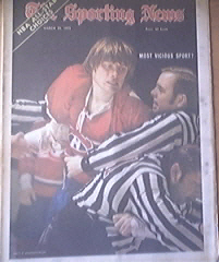 The Sporting News 3/25/1972 Hockey Most Vicious Sport