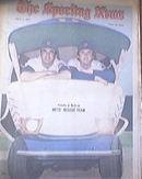The Sporting News 7/1/1972 Mets Frisella & McGraw Cover