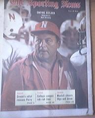 The Sporting News 9/9/1972 Nebraska's Bob Devaney Cover