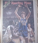 The Sporting News 12/16/1972 UCLA's Bill Walton Cover