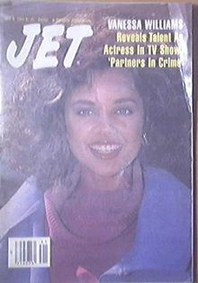 JET 10/8/1984 Vanessa Williams, Tommie Smith