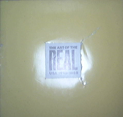 The Art Of The REAL USA 1948-1968 Museum Of Modern Art