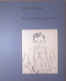 Jacob Kainen Prints, A Retrospective, 1976 Book