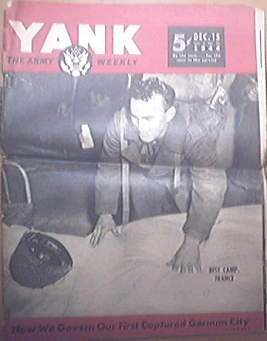 YANK, 12/15/1944, 1st German Captured City