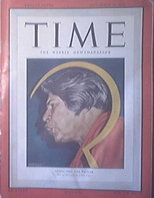 Time Magazine, 9/20/1948, Communist Ana Pauker cover