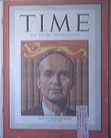 Time Magazine, 9/26/1949, Britain's Ambassador Franks