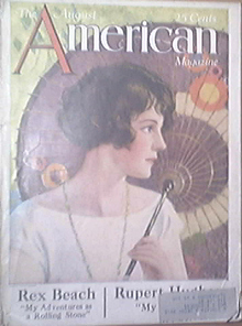 THE AMERICAN MAGAZINE, 8/1924, REX BEACH
