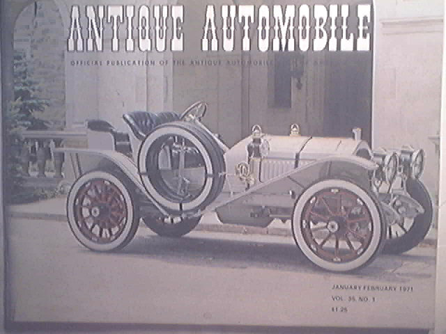 ANTIQUE AUTOMOBILE Magazine Ford 1971