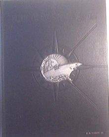 1932 LUCKY BAG United States Naval Academy Yearbook