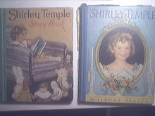 Shirley Temple two 1935 Beautiful Hardback Books with box
