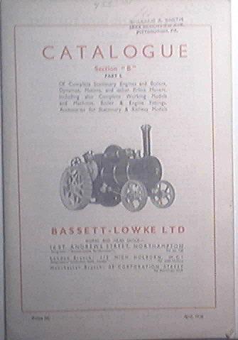 Bassett - Lowke LTD Catalogue