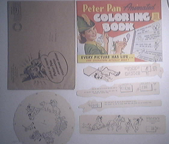 Peter Pan Animated Coloring Book 1943
