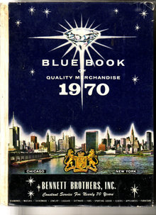 Blue Book of Merchandise 1970 Bennet Brothers, Inc Toys, dolls, bikes, pedal cars, Fashion