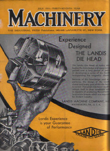 MACHINERY July 1931 Tungsten Carbide, Welding Allegheny
