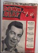Down Beat Magazine 11/19/1952 Porgy & Bess Percy Faith Jazz, blues