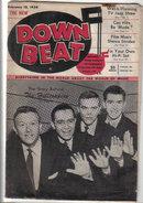 Down Beat Magazine 2/10/54 The Hilltoppers, Glenn Miller