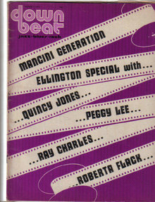 Down Beat Magazine 3/1/1973 DUKE ELLINGTON Special