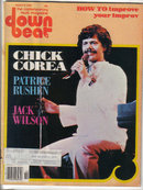 Down Beat Magazine 3/9/1978 Chick Corea, Jack Wilson