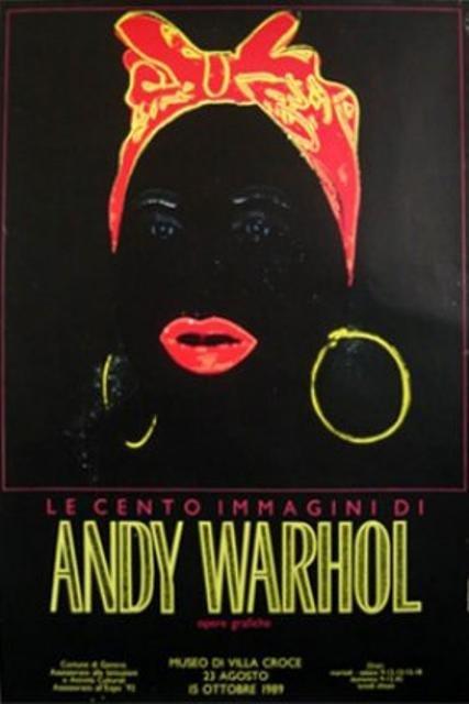 Original Le Cento Imagini di Andy Warhol Poster (MAMMY)