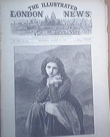 London Illustrated News  8/17/1872 Stanley and Livingston