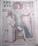 Saturday Evening Post  10/21/1933 NORMAN ROCKWELL