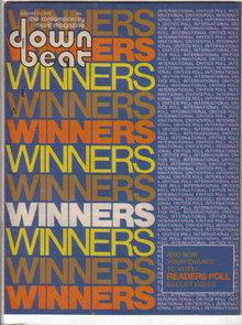 Down Beat Magazine 8/14/1975 KLAUS DOLDINGER, Milt Jackson, Harvey Mason, Mayuto Correa