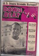 Down Beat Magazine 8/27/1952  Vaughn Monroe, Billy May, Lena Horne
