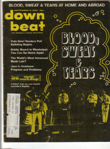 Down Beat Magazine 9/17/70 BLOOD SWEAT & TEARS & MILES, Dr. Joseph Scianni, Bobby Bryant's, Pittsburgh CYO Jazz Festival