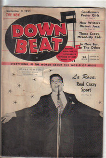 Down Beat Magazine 9/9/53 Mel Torme,  Billy Ward