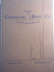 CHANDLER BOYD CO. 1952 Catalog D Tools For Industry, Lathe Tools, Drills, Hand Tools, Fire Extinguishers, Engineering
