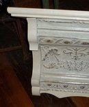 Vintage Tin Crown Shelf Mantel