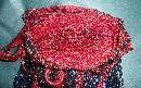 Vintage Beaded Flapper Hangbag