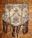 Vintage Beaded Victorian Handbag