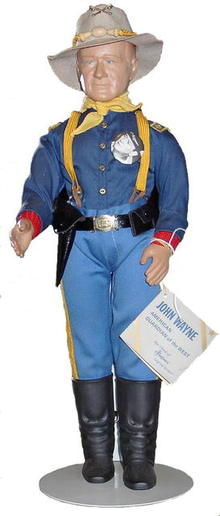 The Calvary John Wayne Doll