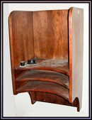 Wooden Wall-Mounted Phone Booth