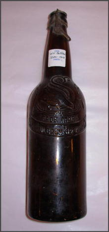 Pre Prohibition Schmulbach Brewing Bottle