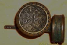 Pair of East Lake Brass Door Knobs