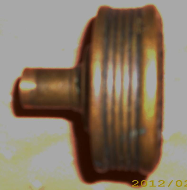 Pair of East Lake Brass Door Knobs
