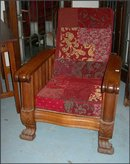 Oak Morris Chair