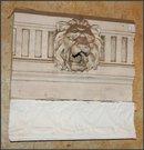 Terra Cotta Lion Head Flag Pole Holder