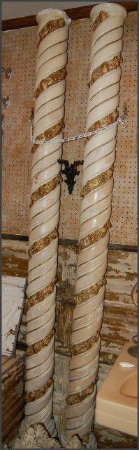 Beautiful Spiral Columns