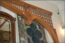Carved Wide Span Fretwork/Oak