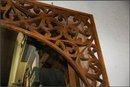 Oak Fretwork with scrollwork