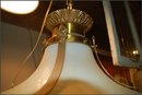 Art Deco Pendant Light , Round