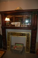 Mahogany Fireplace Mantel