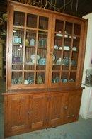 Oak Built-In Cabinet
