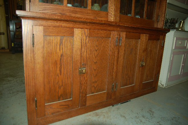 Oak Built-In Cabinet