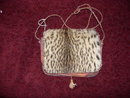Antique Cheetah Purse